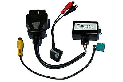 CRUX AVIMB-1 Audio Video Interface w/ OBD Code for Mercedes Command NTG4 System