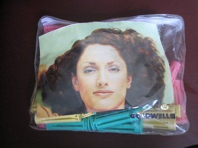 Vintage Goldwell 60 Double Rod Wave Design Permanent Wave Rods NIP New