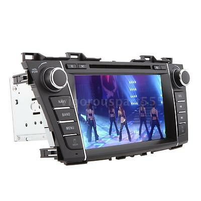 "8"" HD Car DVD Player GPS Navigation Stereo Radio Bluetooth for Mazda5 2011 2012"