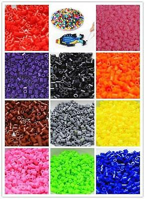 1000pcs Lots 5mm HAMA/PERLER Beads For Kids Fun Craft Charms DIY Toy 13 Color FW