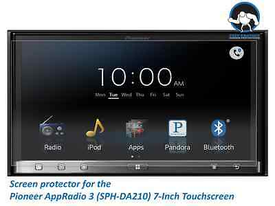 Tuff Protect Anti-glare Screen Protectors for Pioneer AppRadio 3 SPH-DA210 7""