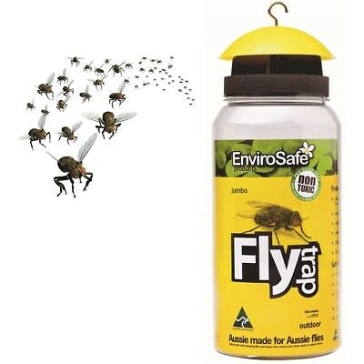 ENVIROSAFE JUMBO Wasp & Fly Trap Catcher - Non Toxic - Pesticide Free