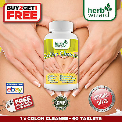 Super Colon Cleanse Strong Maximum Body Cleansing Detox Weight Loss Pills