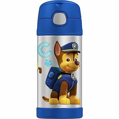 Thermos PAW PATROL Funtainer Kids Straw Drink Bottle 330ml Cold Water 12hrs