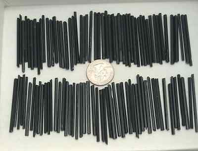 100 pieces all natural glassy black tourmaline crystals from Africa