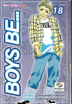 BOYS BE... n° 18 Edizione PlayPress Manga a 1€