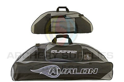 Avalon Soft Compound Case Classic 106Cm Black And Grey