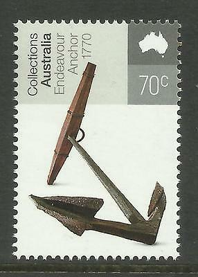 AUSTRALIA 2015 CAPTAIN JAMES COOK ENDEAVOUR ANCHOR Single MNH