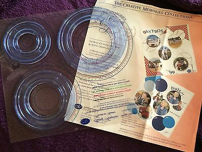 Creative Memories Cutting System Circles And Ovals