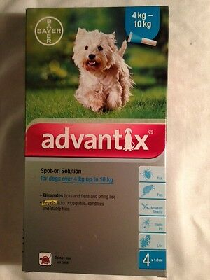 Advantix for dogs 2 pack 11-20 LBS...2 TUBES kills fleas, ticks and mosquitos!