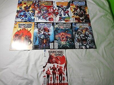 New Suicide Squad Complete Run #'s 1,2,3,4,5,6,7,8,.9 All 1st Print NM