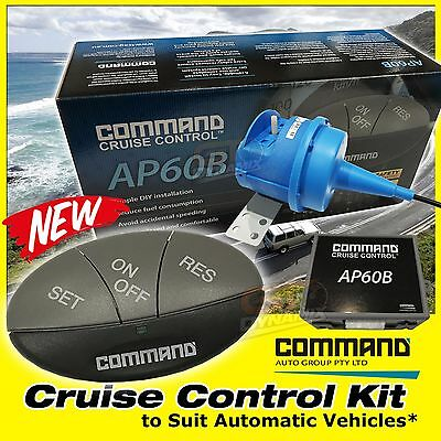 AP60B CRUISE CONTROL DIY KIT COMMAND UNIVERSAL to SUIT MANUAL VEHICLES AP60