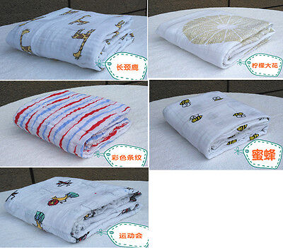 NEW Soft Aden+ Anais 100% Muslin Cotton SWADDLE Baby Blanket- 5 Patterns