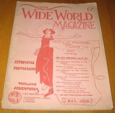 The Wide World Magazine Volume 1 number 2 May 1898