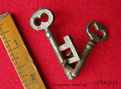 Rare Genuine Antique Skeleton Key Puzzle - More Unique Old Vintage Keys Here