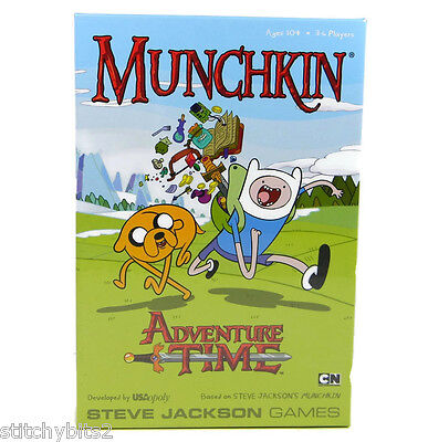 Munchkin Adventure Time Game - Steve Jackson Games! NIB USAopoly sealed