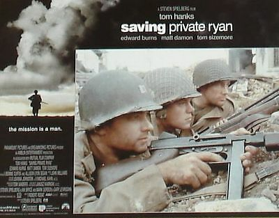 SAVING PRIVATE RYAN - 11x14 US Lobby Cards Set of 12 - Tom Hanks - WW II 2
