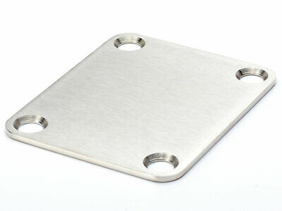Callaham Neck Plate, Stainless Without Serial No. (Satin)