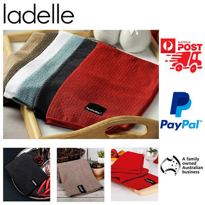 Microfibre Glass Cloth Tea Towels by Ladelle | Many Colours to Choose from