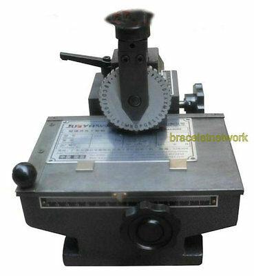 Classic Manual Hand Embossing Machine Metal Plate Marking Machine Label Tool