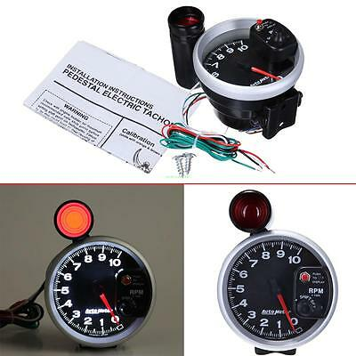 Tacho Meter 10K RPM Tachometer Shift Gauges 4 6 8 Cylinder Engine