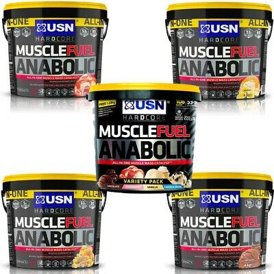 USN Muscle Fuel Anabolic All In One 4kg / 4000g Powder - ALL FLAVOURS
