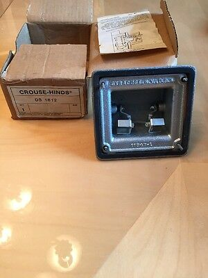 Crouse Hinds Ds 1812  --New In Factory Box *never Installed * Perfect-