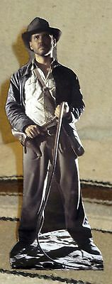 """Indiana Jones """"Raiders of the Lost Arc"""" Harrison Ford Tabletop Movie Standee 11"""""""