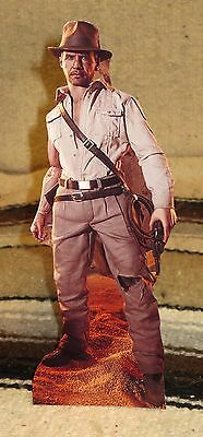 """Indiana Jones """"Raiders of the Lost Arc"""" Harrison Ford Tabletop Movie Standee 10"""""""