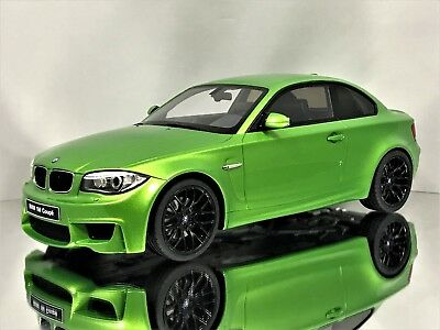 GT Spirit BMW 1 Series 1M Coupe (E82) Mamba Green w/ Black Rims Resin Model 1:18