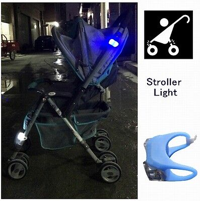 2016 New Night Silicone Caution Light Lamp For Baby Stroller Night Out Safety