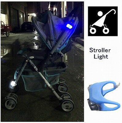 2018 New Night Silicone Caution Light Lamp For Baby Stroller Night Out Safety