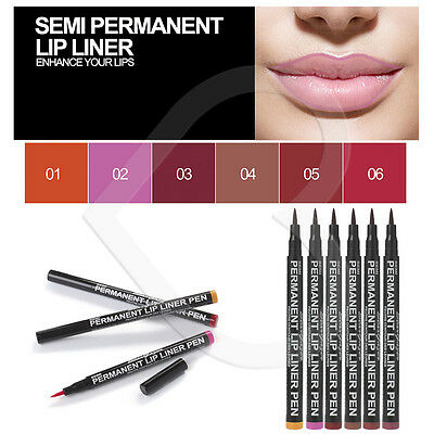Stargazer Semi Permanent Lip Liner Pen Stain Waterproof Long Lasting All Shades