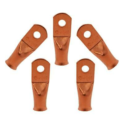 The Install Bay by Metra CUR1014 1/0 Gauge 1/4' Copper Ring Terminals 5 Pack