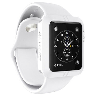 LUVVITT ULTRA ARMOR High Performance Flexible Apple Watch Case 42mm - White