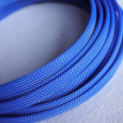 Sleeving Cable 5 Meters X 12MM Blue/&Red Tube PET Expandable Braided Sleeving