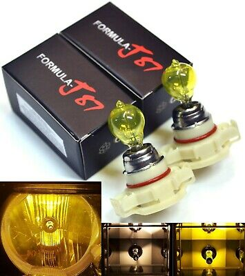 Halogen PSX24W 2504 24W 3000K Yellow Two Bulbs Fog Light Replace Lamp Upgrade OE