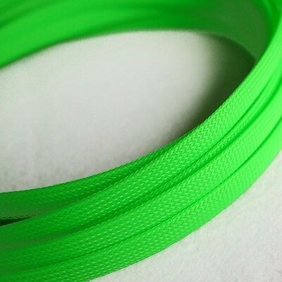 Sleeving Cable 5 Meters X 8MM Green Tube PET Expandable Braided Heat Shrink Tube