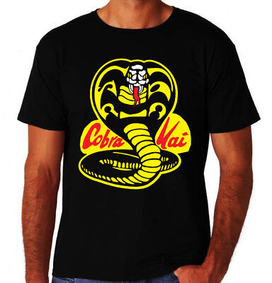 Cobra Kai Classic 80's Party Action Karate Martial Arts Dojo Movie Mens T-Shirt