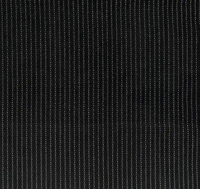 Antique 1890 Black & White Strip Fabric