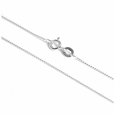 """Fine Sterling Silver Foxtail Chain Necklace 16 18 20 22 """" Inch Chains"""