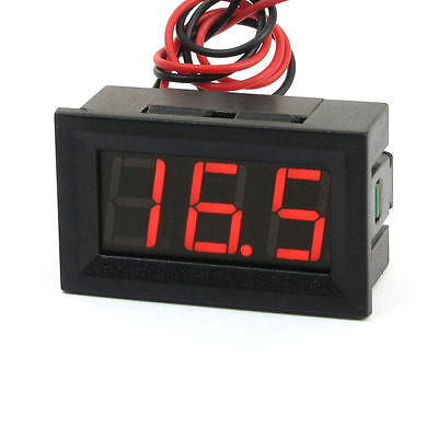Camper Canal Boat Leisure Battery Panel Mount 12V 24Volt Meter Indicator Led 216