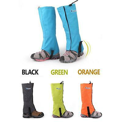 Bluefield Waterproof Gaiters Leg Protection Guard Skiing Hiking Climbing 0NU4
