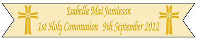 1st FIRST HOLY COMMUNION or HOLY CONFIRMATION BANNER PERSONALISED