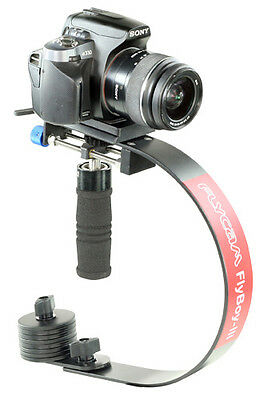 FLYBOY III DSLR STABILISER + QUICK RELEASE PLATE. GO PRO adapter not included.