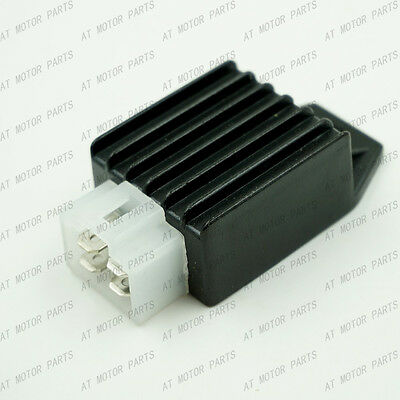 12 Volt 4 Pin Voltage Regulator Rectifier 150cc 50cc GY6 139QMB 157QMJ Scooter