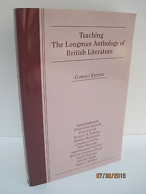 The longman anthology of british literature volume b second compact teaching the longman anthology of british literature compact edition fandeluxe Choice Image