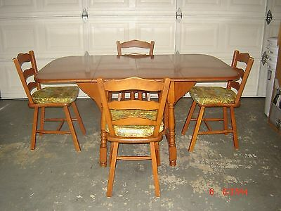 Red Maple Table And Chairs