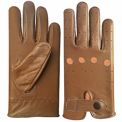 Top Quality Real Soft Leather Men's Driving Gloves -D 508