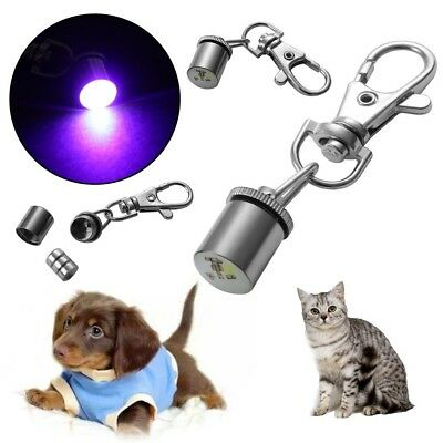 Pet Flashing Led Light Blinker Safety Night For Collar Tag Waterproof Dog Cat